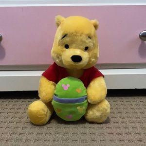 Disney Winnie the Pooh Easter egg plush